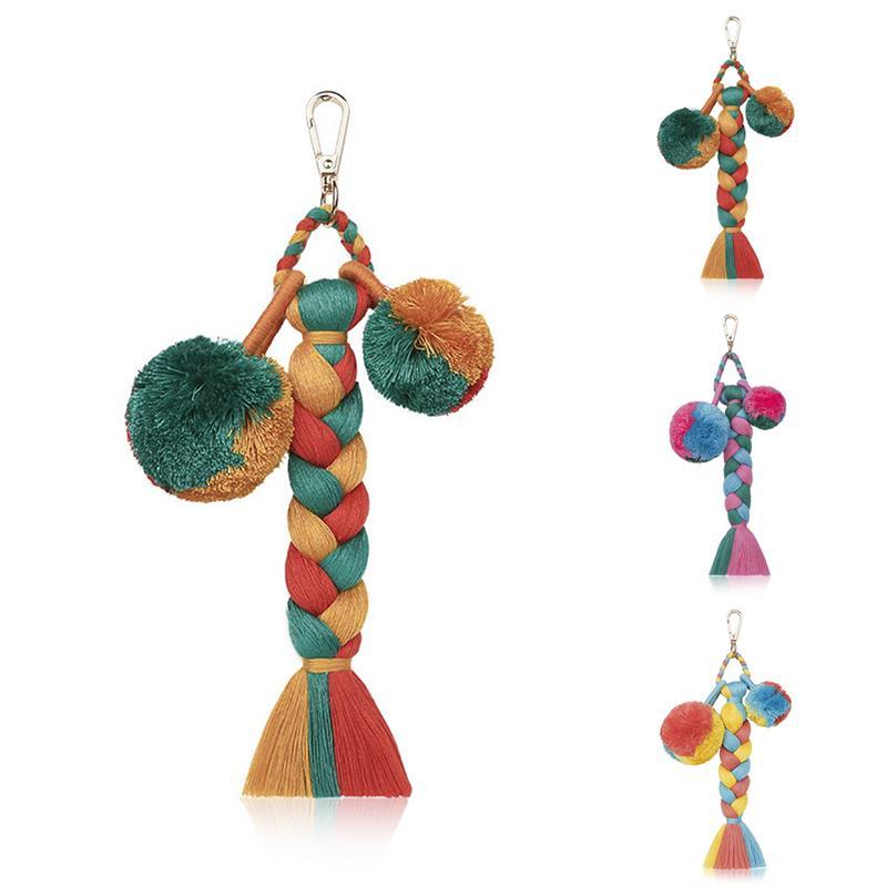 Кисточка брелок ручной работы модный брелок кисточка сумка Шарм для кошелька декор сумки аксессуары