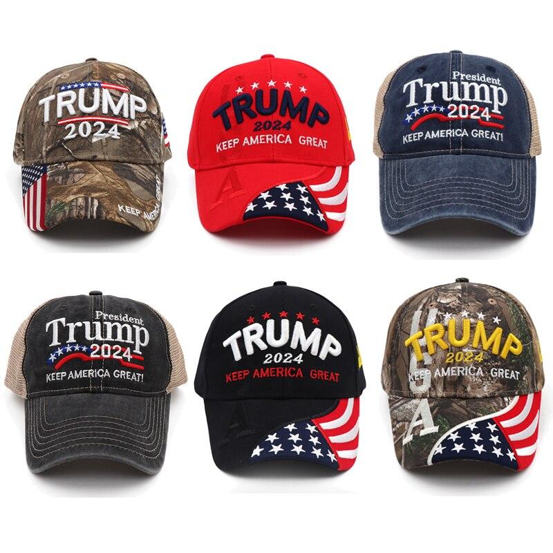 Дональд Трамп 2024 MAGA кепка бейсболка камуфляж США KAG Make сохранить Америку великолепный снова Снэпбэк президент шляпа