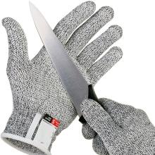 Grade Level 5 Safety Anti Cut Gloves Kitchen Cut Resistant Emergency Kit High-strength Safe Glove Cutting Safety Gloves