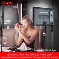 Godox 3 pièces LED Ultra mince P260C 256 pièces LED 30W 3300-5600K Kit d'éclairage de panneau de lumière vidéo