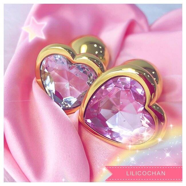 Petit Plug Anal fait à la main butin perles en acier inoxydable + cristal bijoux jouets sexuels produits pour adultes godemichet Anal pour femmes homme Sex shop