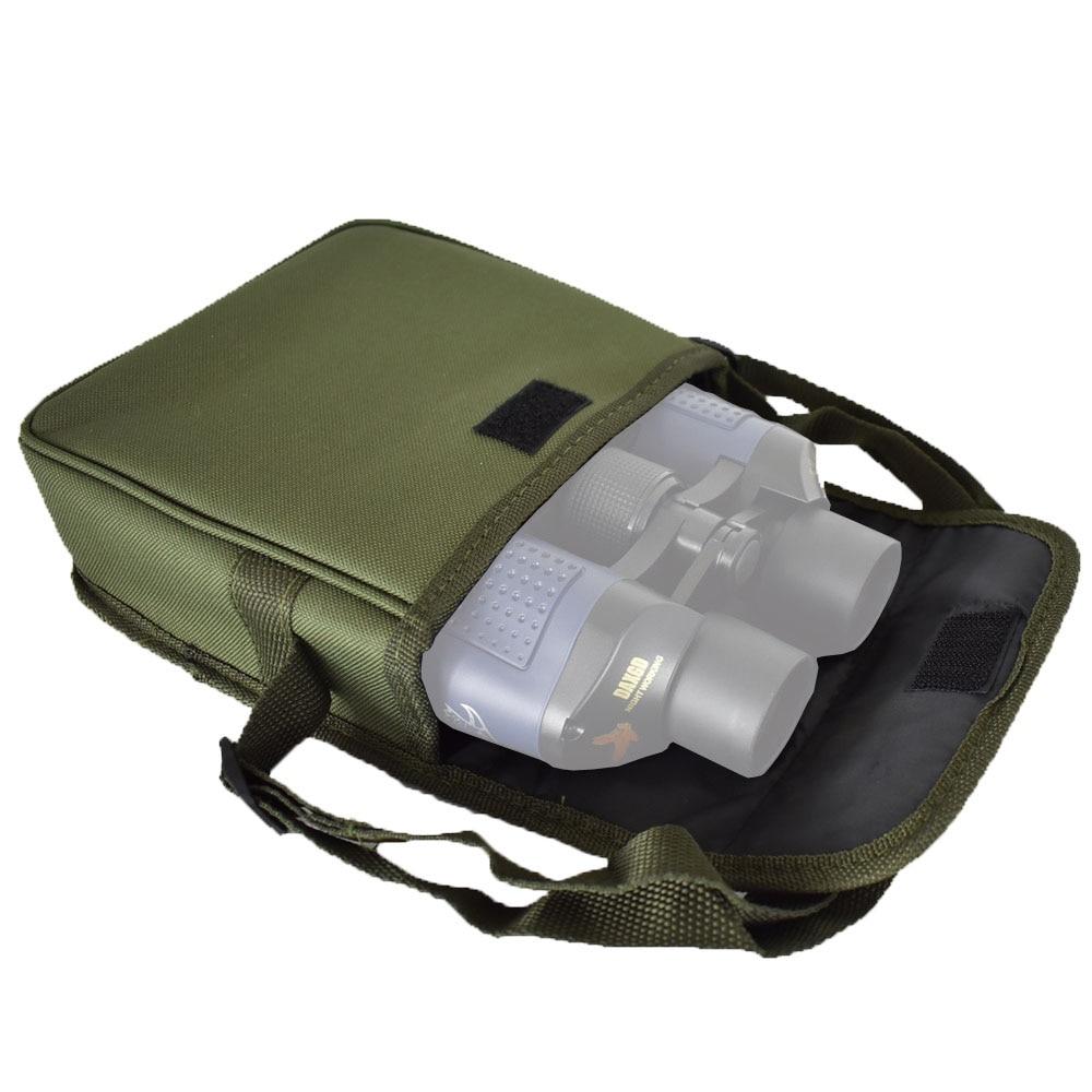 Binocular telescope special bag Outdoor camping sports Nylon green color Portable Compact Shock Absorbing Decompression Soft Bag|Monocular/Binoculars| |  - title=