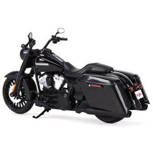Image 4 - Maisto 1:12 2017 Road King Speclal döküm araçları koleksiyon hobiler motosiklet Model oyuncaklar
