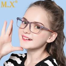 Mx, анти-синий светильник, детские очки, игровая компьютерная Блокировка лучей, милые очки для мальчиков и девочек, детские очки для защиты глаз, очки W5105