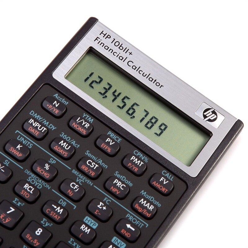 Hp hp 10bii + calculadora financeira hp10b2