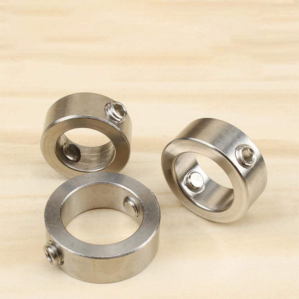 HiMISS Stainless Steel Woodworking Tool Drill Locator Depth Stop Collars Ring Positioner