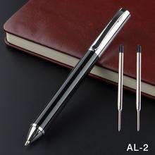 Металлическая шариковая ручка из нержавеющей стали офисные и
