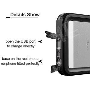 Image 3 - אמיתי עמיד למים מקרה עבור iPhone 11 פרו X XS מקס 5S 6 6S 7 8 בתוספת SE 2020 עמיד הלם חיצוני צלילה מגן מים הוכחת כיסוי