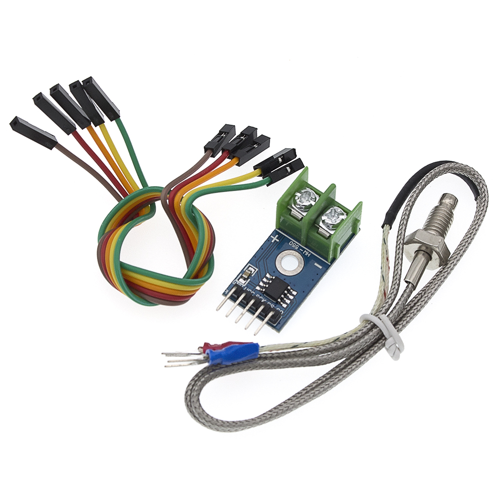 Image 2 - MAX6675 Module + K Type Thermocouple Thermocouple Senso Temperature Degrees Module for arduino-in Integrated Circuits from Electronic Components & Supplies