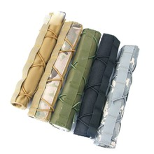"""Nylon Fabric 8.5"""" 22cm Suppressor Cover Tactical Accessories Quick Release CP Suppressor Case"""