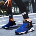 Мужская баскетбольная обувь с высоким берцем Jordan  баскетбольные кроссовки с воздушной подушкой  противоскользящая обувь для пар  баскетбол...