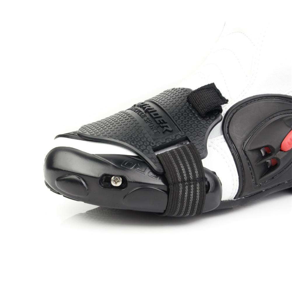 Motorrad Shift Pad Schuh Boot Cover Schützende Getriebe Shifter Zubehör Kompakt-beweis Verschleiß-beständig Nicht Einschließlich Motorrad Boot