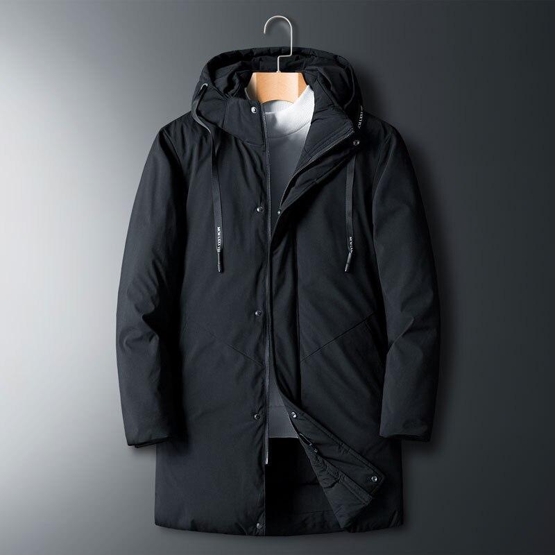 Куртка мужская с капюшоном, теплая хлопковая верхняя одежда, брендовая одежда, повседневная свободная парка, большие размеры 4XL 5XL 6XL 7XL 8XL
