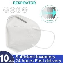 10/30/50PCS/100PCS Fast Delivery kn95 Face Mask kn95 Masks Filter Filtration Dust Mouth Mask Mascarillas ffp2 ffp3