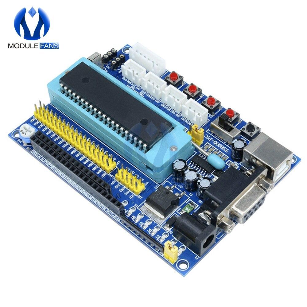 Эмулятор платы разработчика минимальной системы 12 В постоянного тока PIC16F877A PIC JTAG ICSP программа минимум модуль микроконтроллера системы