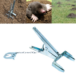 Многофункциональная ловушка для Кротов, ножничный тип, крыса, товары для контроля, уличные Садовые принадлежности