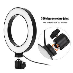 Image 2 - 6 אינץ LED טבעת אור Selfie למלא מנורת 10 רמות בהירות Dimmable 3 מצבי אור לסלון שידור/צילום/הקלטה