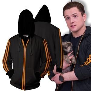 Image 2 - KINGSMAN Cosplay Zipper Hoodies Sweatshirts Men/Women Casual Tracksuits Hooded KINGSMAN Hoodies Costumes Tops Uniforms