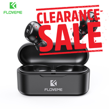 FLOVEME Kopfhörer TWS 5,0 Drahtlose Bluetooth Kopfhörer Einzel/Doppel Ohr Headset Sport Stereo Sound Ohrhörer Auto Paar