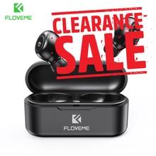 FLOVEME ecouteurs TWS 5.0 sans fil Bluetooth écouteur simple/Double oreille casque sport stéréo son écouteurs Auto paire
