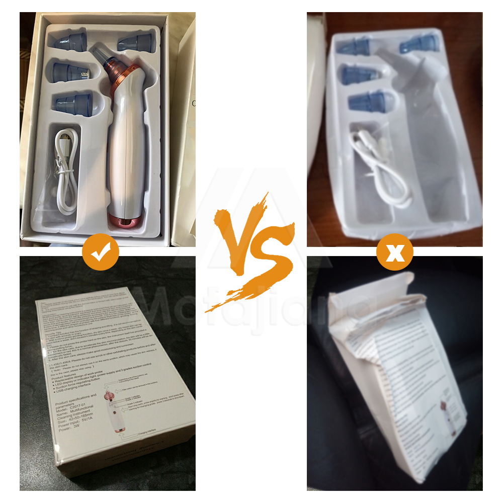 Text - Pore Cleaner Blackhead Remover Vacuum Electric Nose Face Deep Cleansing Skin Care Machine