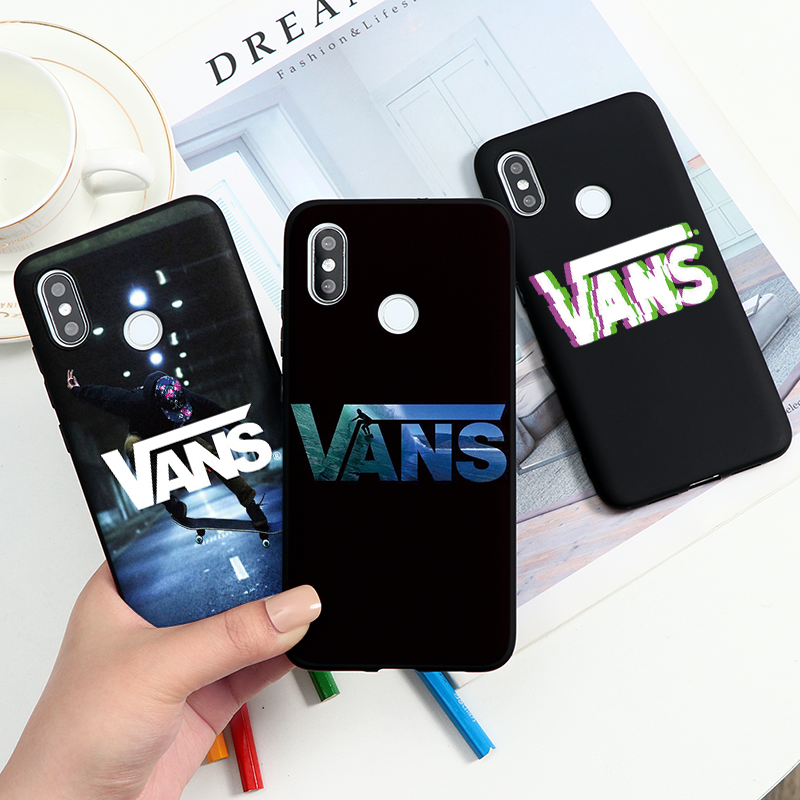 American Skateboard Brand VANS Case For Xiaomi Redmi Note 8 Pro 9S 8T 9 7 6 5 K20 K30 8A Mi 9T Pro 9 SE Lite A2 A1 Note 10 Coque