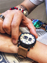 MEGIR reloj de cuarzo para hombre, de pulsera, deportivo, resistente al agua, Masculino, 2020