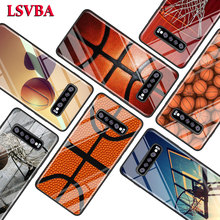 Cool basketball Fashion for Samsung Galaxy Note 10 9 8 Pro S10e S10 5G S9 S8 S7 Plus Super Bright Glossy Phone Case Cover