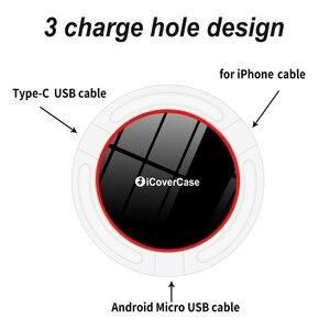 Image 3 - Für Huawei Honor 9X Drahtlose Ladegerät Telefon Zubehör Fall Für Huawei Ehre 9X Pro Qi Power Ladung Lade Pad mit empfänger