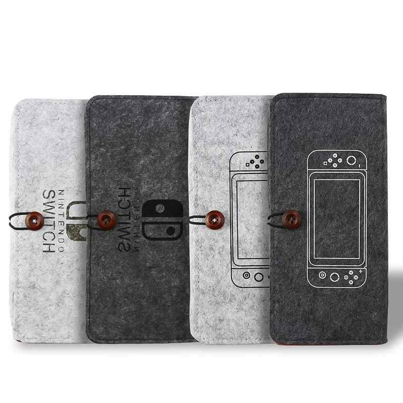 Pour Nintend Switch sac de rangement coloré étui de protection Portable pour Nintend Switch Nintendoswitch NS accessoires de jeu
