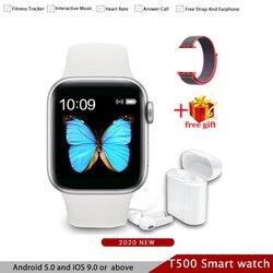 Bluetooth Smartwatch z funkcją dzwonienia iwo 11 inteligentny Monitor pracy serca zegarek dla androida przypomnienie informacji inteligentny zegarek 5 PK Iwo 12 w Inteligentne zegarki od Elektronika użytkowa na