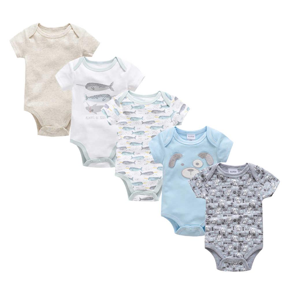 2019 New Baby Bodysuit Cotton Pyjamas bebe Newborn Baby Girl Clothes Set Body bebes Short Sleeve roupa de bebe Baby Boy Clothing