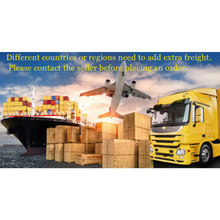 The shipping cost for different countries or regions extra freight