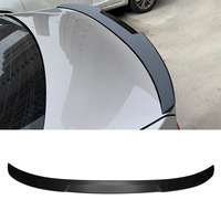 New Car Carbon Fiber Rear Trunk Spoiler Wing Boot Lip For BMW F30 F35 F80 M3 4 Door Sedan M4 Style Auto Accessories Car Styling