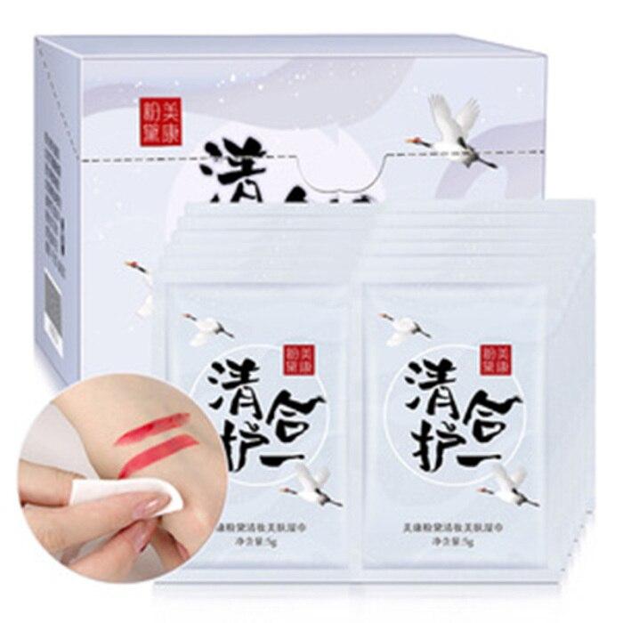 limpeza profunda facial almofadas tecidos kg66