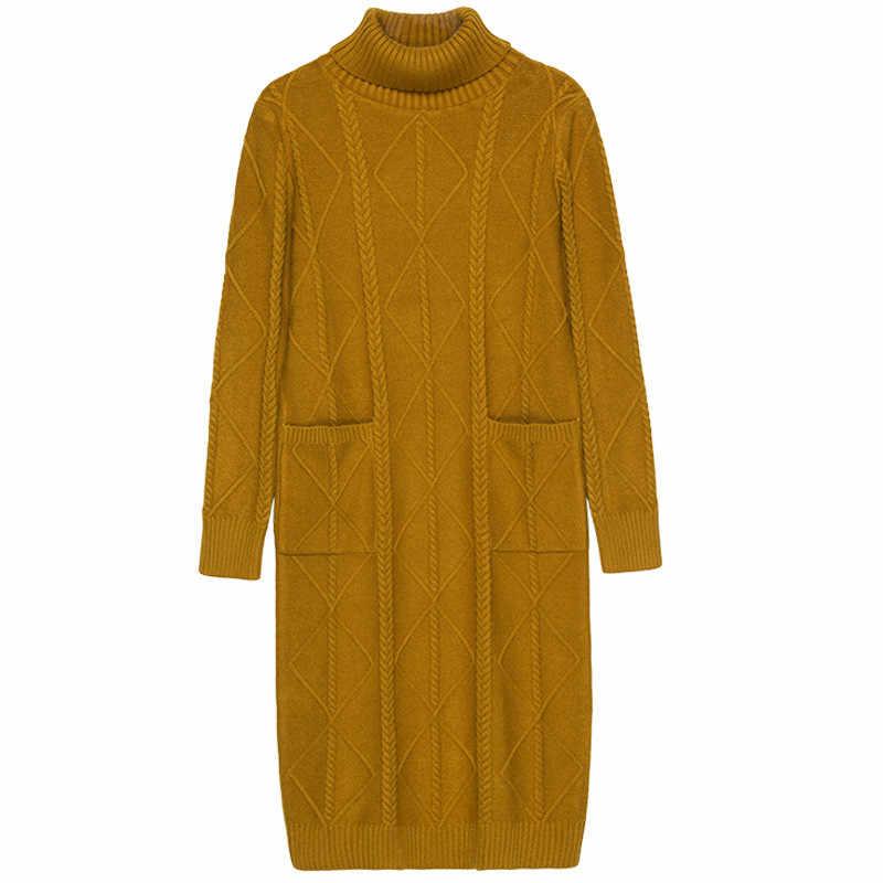 เสื้อกันหนาวแฟชั่นผู้หญิงชุดถักผู้หญิงคอเต่าเสื้อกันหนาวชุดถักเสื้อกันหนาวฤดูหนาวผู้หญิงชุด