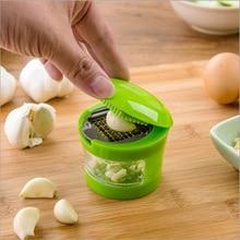 Chopper Slicer Crusher Grinder Garlic Grater Kitchen-Tool Hand-Presser Stainless-Steel