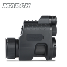 MARCH NV310 Digital WiFi Night Vision Scope Add On Attach Scout Monocular Hunting Camera Red dot Sight IR Night Vision Optics