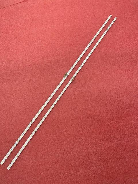 2Pcs Led Backlight Strip Voor UE55NU7170U UE55NU7100 UE55NU7300 BN96 46033A 45913A BN61 15485A AOT_55_NU7300_NU7100 LM41 00566A