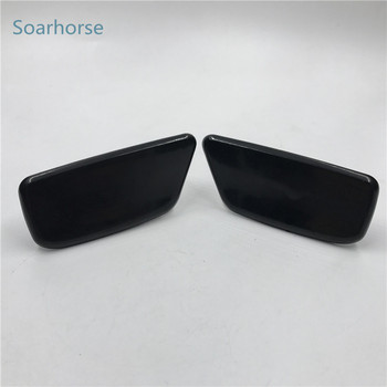 Soarhorse for Subaru Forester 2009-2012 Front Bumper headlight water spray nozzle cover headlamp washer nozzle cap image