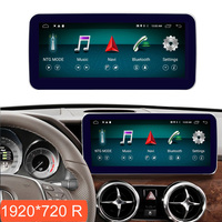 10.25 inch 4+64G Android Display for Mercedes Benz GLK X204 2013 2015 Car Radio Screen GPS Navigation Bluetooth Touch Screen