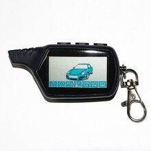 Keychain Car-Alarm-System Key-Fob Lcd Remote Security for KGB FX-7 Alert Two-Way
