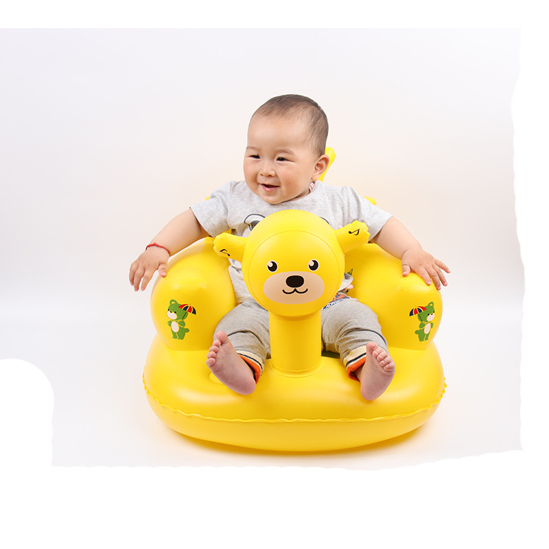 Inflatable Sofa Music Children's Dining Chair Seat Armrests Can Play Songs New