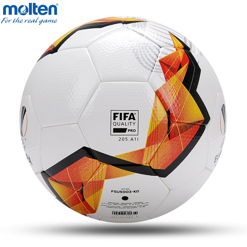 Image 3 - 2020 Original Molten Soccer Ball Official Size 4 Size 5 Football Ball Team Sports Training Football League Balls futbol bolaSoccers   -