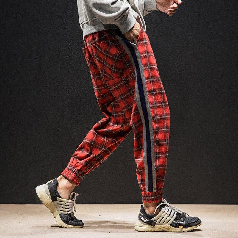 Мужские брюки-карго 3XL, винтажные брюки-карго для бега, 2019