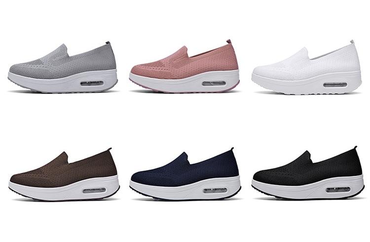 QJ 869-2020 New Spring Autumn Women's Flat Shoes Comfortable Nurse Sneakers-2