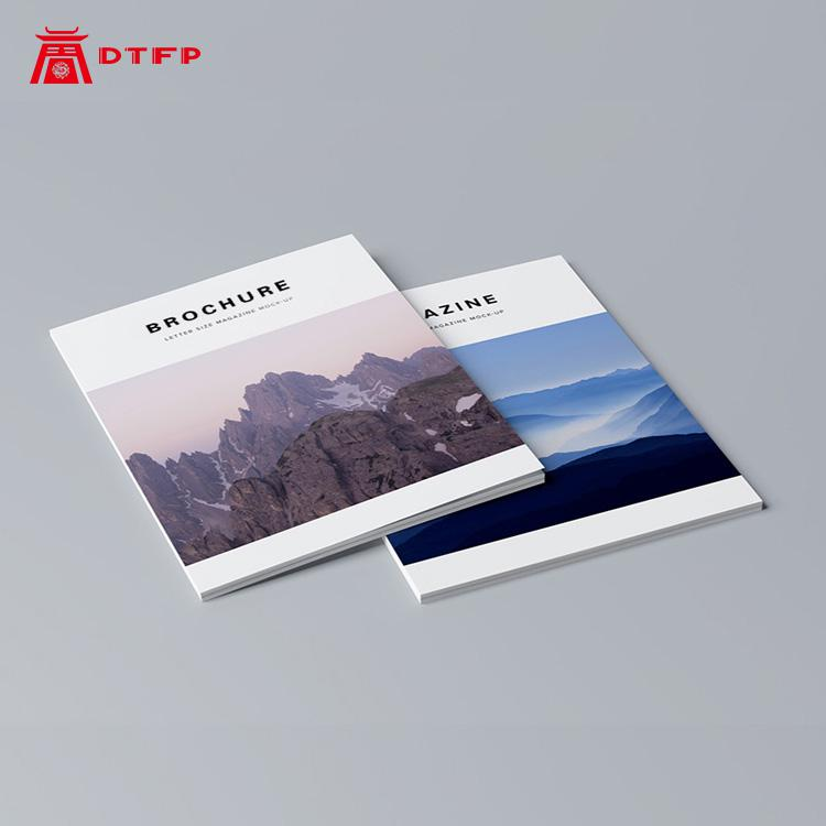 Corporate Album Company Brochure Printing Booklet Printing Custom Book Design Manual