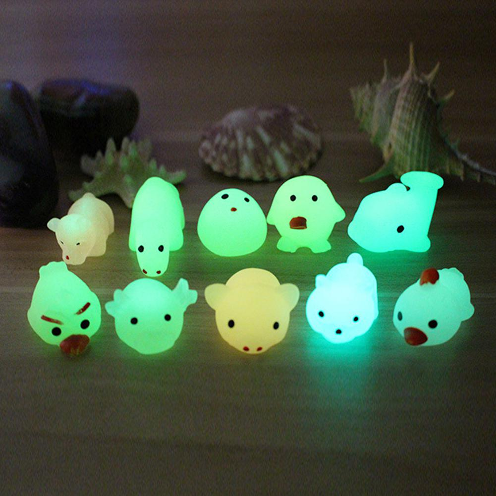 1Pcs Mini Squishy Toy Cute Animal Antistress Kids Luminous Squeeze Toy Stress Relief Toys Funny Gift Funny Gift in Squeeze Toys from Toys Hobbies