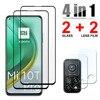 4 in 1 Tempered Glass For Xiaomi Mi 10T Lite Mi 9 SE 9T Pro CC9 8 SE 10 T Screen Protector Lens Film For Xiaomi Mi 10T Pro Glass