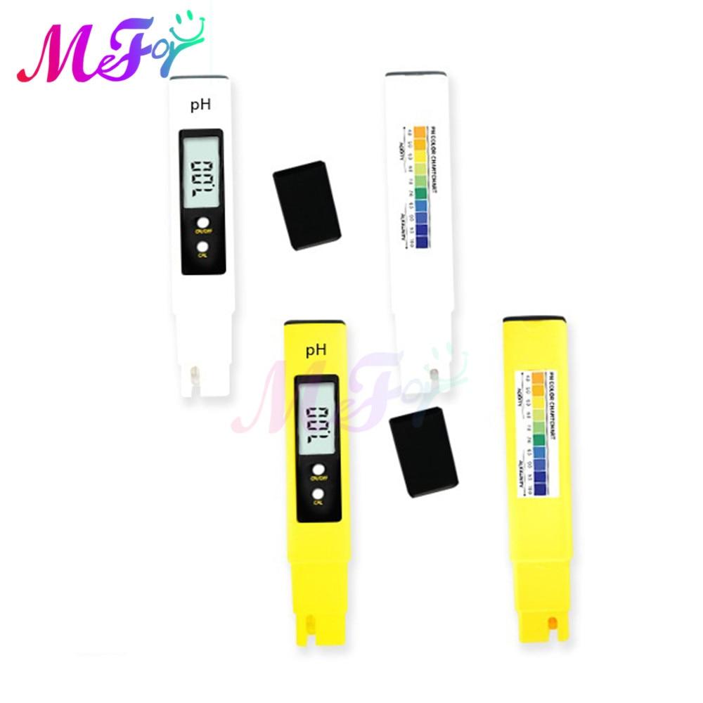 LCD Display Digital 0.0 14.0 PH Meter Tester Accuracy 0.01 PH Meter Tester for Food Aquarium Pool Water Quality Purity Test PH Meters  - AliExpress